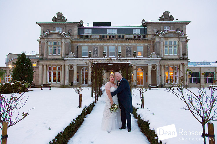 Down Hall Winter Wedding Photography