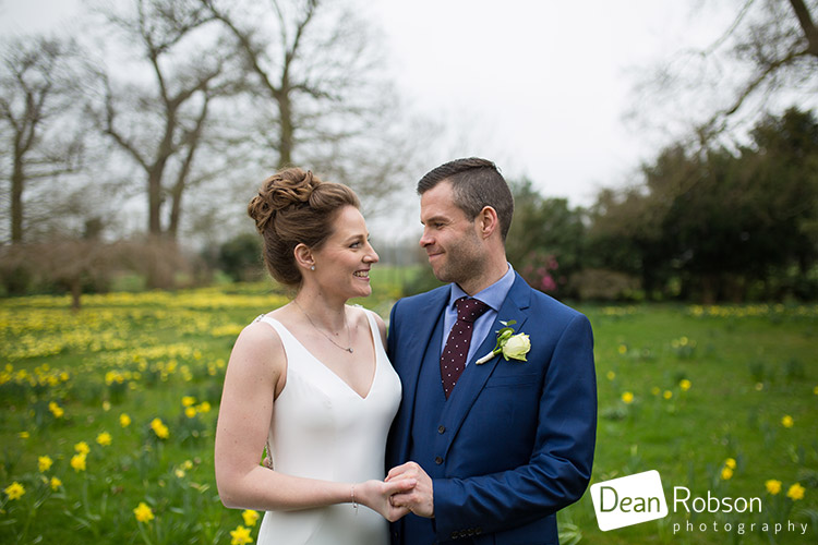 Spring Wedding Photography at Blake Hall