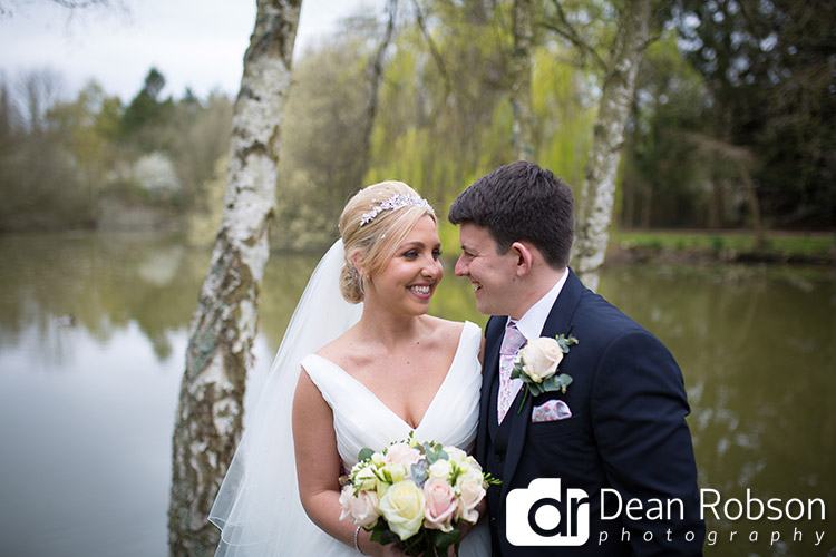 Great Hallingbury Manor April Wedding Photography